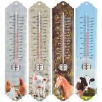 Hőmérő kültéri állat mintás