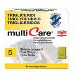Multicare-In triglicerid tesztcsík 5db/dob