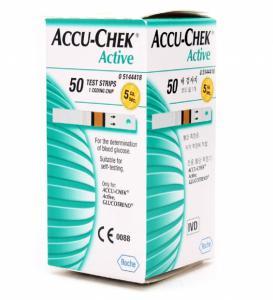 AccuCheck Tesztcsík 50db