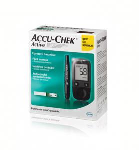 Accu-Chek Active vércukor mérő