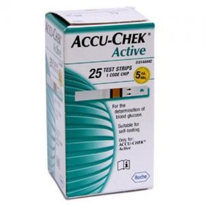 Accu-Chek Tesztcsík 25db