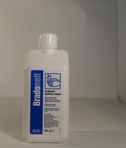 Bradonett 500ml folyékony szappan kupakos