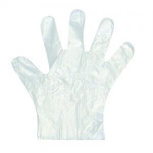 Fóliakesztyű L-M/Plastic Gloves L-M size