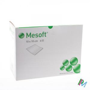 MESOFT 10 x 10 cm steril 4 réteg 156365