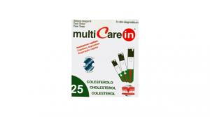 Multicare In Cholesterol tesztcsík 25db/dob