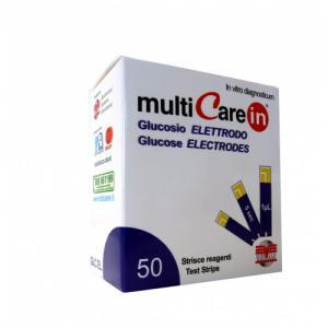 Multicare-In tesztcsík glucose 50 db/dob