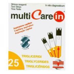 Multicare-In triglicerid tesztcsík 25db/dob