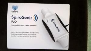 SpiroSonic Flo spirometer