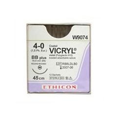 Vicryl varrófonal tuvel 4/0 45 cm